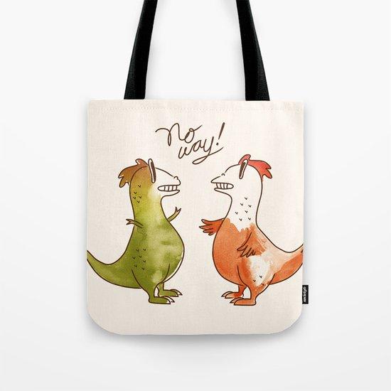 No Way! Tote Bag