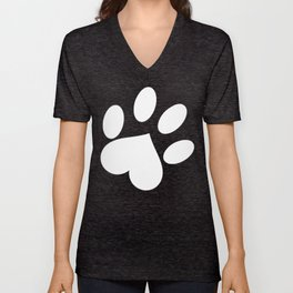 Paw love Unisex V-Neck