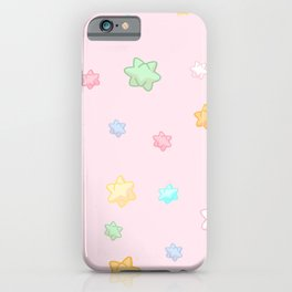 Animal star fragment pattern iPhone Case