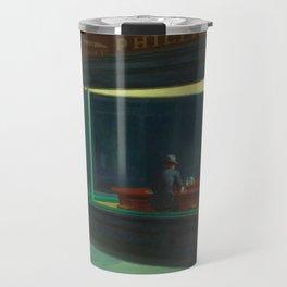 Nighthawks by Edward Hopper Travel Mug