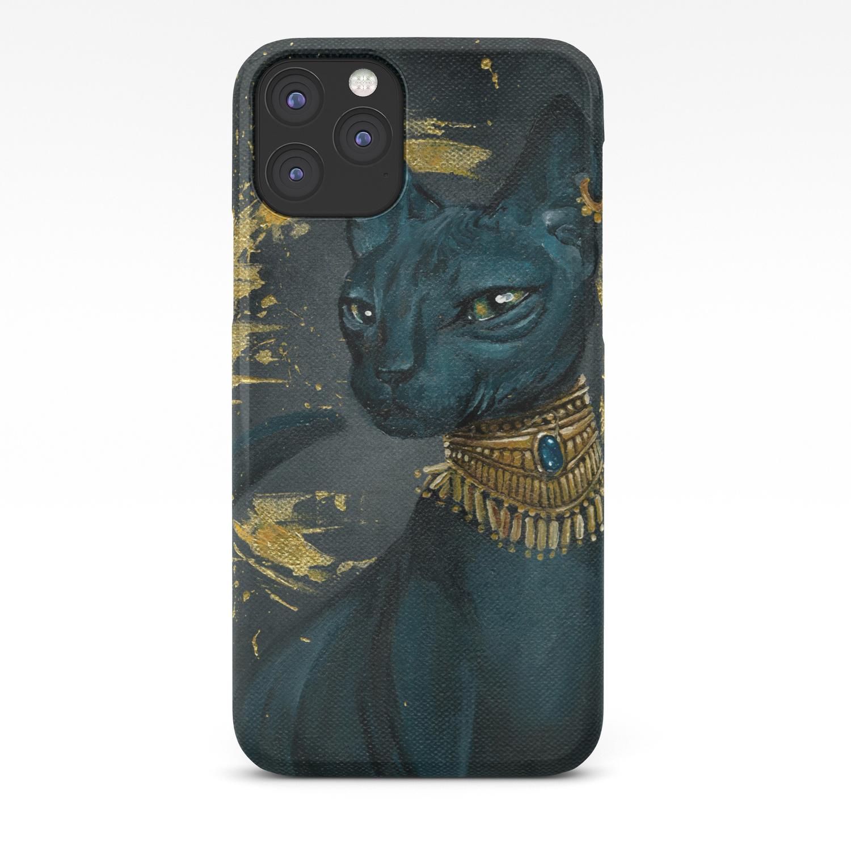 Golden Bastet iphone 11 case