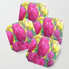 Sweet Spring Tulips Coaster