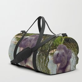 Elephant and Water Duffle Bag