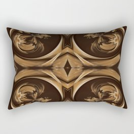 Sequential Baseline Pattern 14 Rectangular Pillow