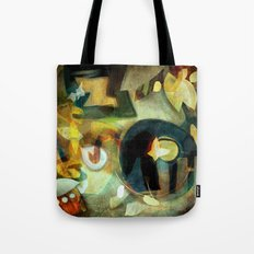 Elements III - Earth Dance Tote Bag