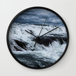Gullfoss 2.0 Wall Clock