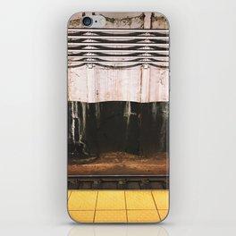 broad street line filth iPhone Skin