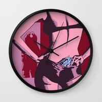 elmo Wall Clocks featuring a scent of betrayal by Rendra Sy