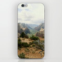 Above Zion Canyon iPhone Skin