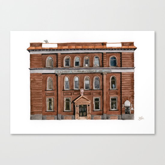 Wright Building Canvas Print