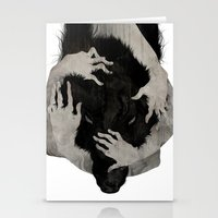 fun Stationery Cards featuring Wild Dog by Corinne Reid