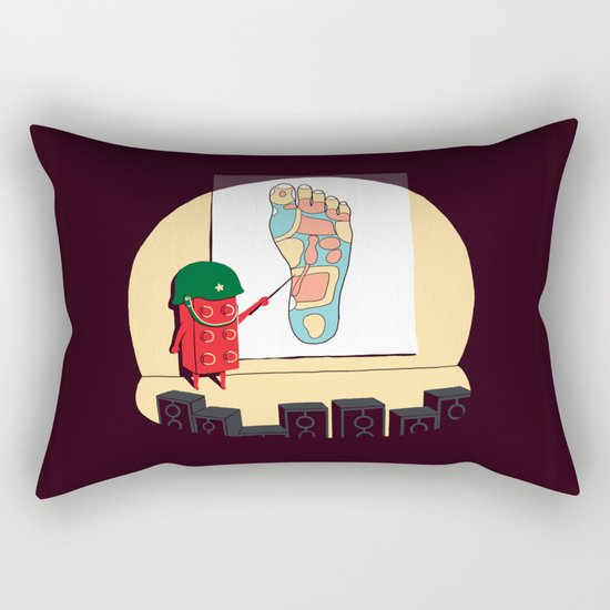 Know your enemy Rectangular Pillow