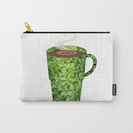 greenery extra large mug - coffee cup series Carry-All Pouch