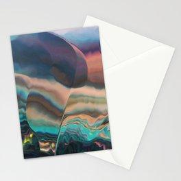 Northern light passing thru Stationery Cards
