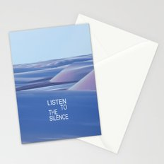 Listen to the Silent #3 Stationery Cards