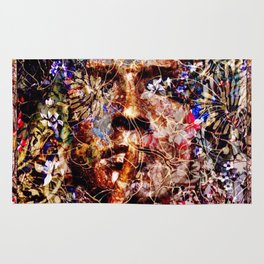 The God Of Flowers Rug