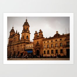 Bogota Art Print