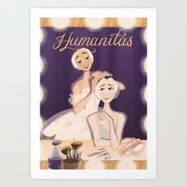 Humanitas Art Print