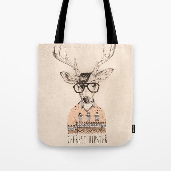 Deerest hipster Tote Bag