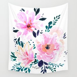 Floral Daydream Wall Tapestry