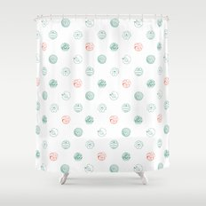 Insects Flight Shower Curtain