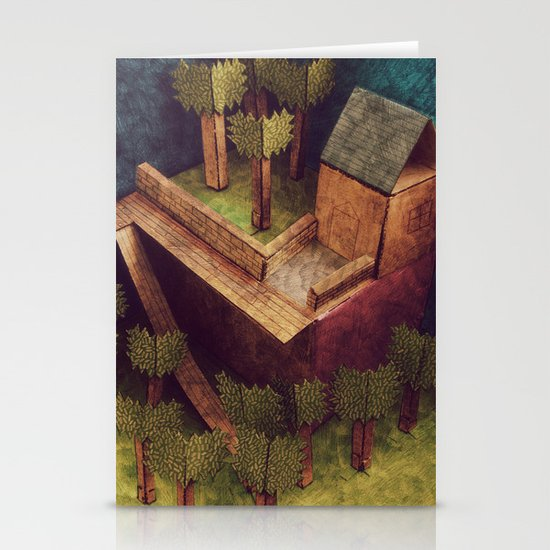Forest House Stationery Cards
