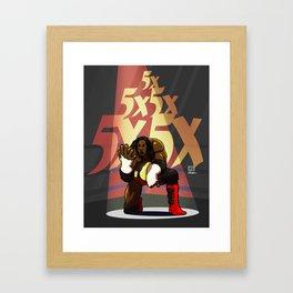 Booker T - 5x Framed Art Print