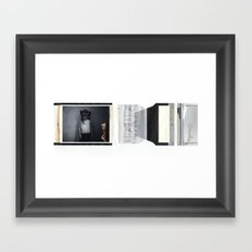blaahhh Framed Art Print