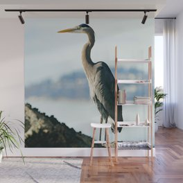 Great Blue Heron Wall Mural