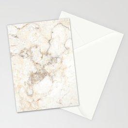 Marble Natural Stone Grey Veining Quartz Stationery Cards