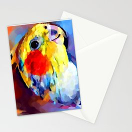 Cockatiel 2 Stationery Cards