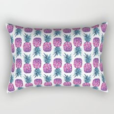 Purple Pineapple Rectangular Pillow