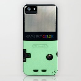 Gameboy Color: Mint iPhone Case