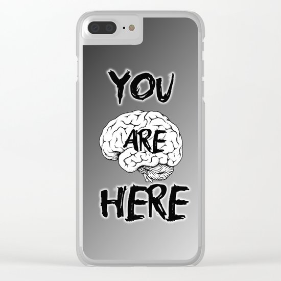 You are here Clear iPhone Case