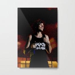 Louis on Stage Metal Print