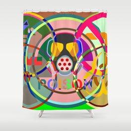 HAZMAT 01 Shower Curtain
