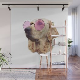 Cool Doggo Wall Mural