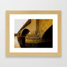 London Bridge, Lake Havasu Framed Art Print