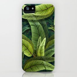 """Retro Tropical Tiki Fantasy 02"" iPhone Case"