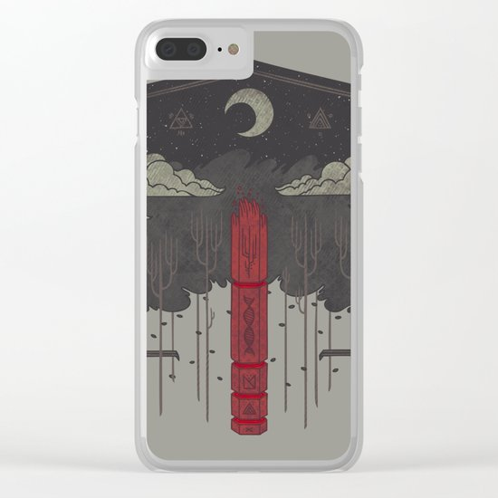 The Lost Obelisk Clear iPhone Case