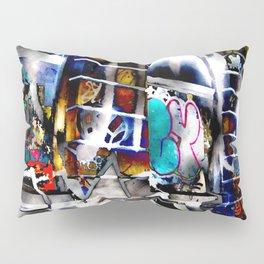 Bowery Graffiti Pillow Sham