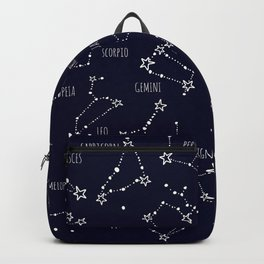 Space horoscop Backpack