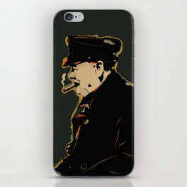 Winston Churchill Pop Art Quote iPhone Skin