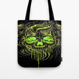 Glossy Yella Skeletons Tote Bag