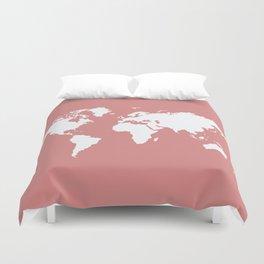 Pink Elegant World Duvet Cover