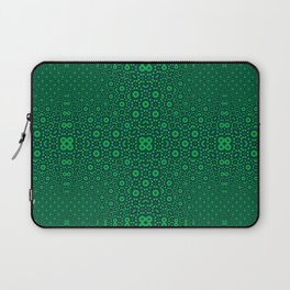 Green Tunnel Trance Laptop Sleeve