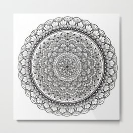 Mandala 10 Metal Print