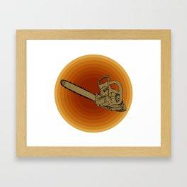 Chainsaw Framed Art Print