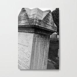 Night Of The Living Dead GraveStone Metal Print