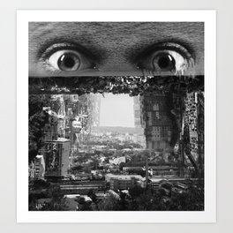 City Style (Series: 'Welcome to BeWe') Art Print